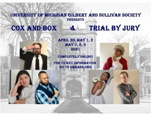 UMGASS presents Cox and Box & Trial By Jury