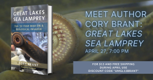 """Picture of the cover of the book """"Great Lakes Sea Lamprey"""""""