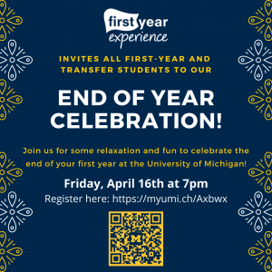 First Year End of Year Celebration!