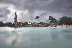 photo of the island nation of Kiribati