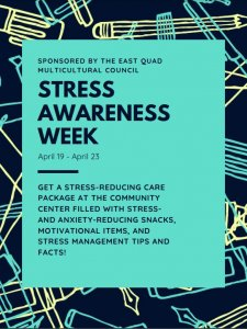 Get a stress-reducing care package at the EQ Community Center between April 19 - 23rd