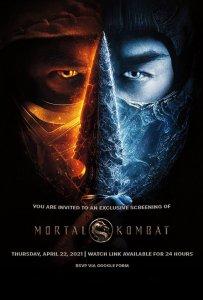 Free virtual screening of the new Mortal Kombat. Register by 4/19.