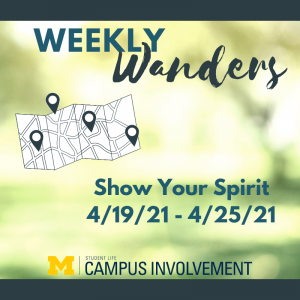 Go Blue and take a wander!