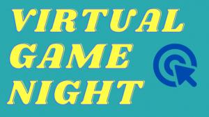 Virtual Game Night Graphic