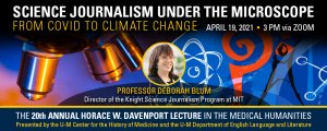 Science Journalism Under the Microscope: From Covid to Climate Control