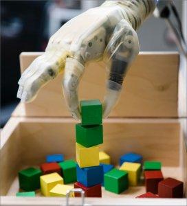prosthetic hand stacks block