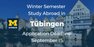 Tubingen deadline