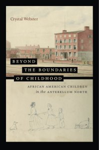 """Book Cover, """"Beyond the Boundaries of Childhood"""" (2021)"""