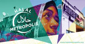 Halal Metropolis mural