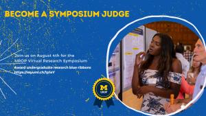 Become a Symposium Judge