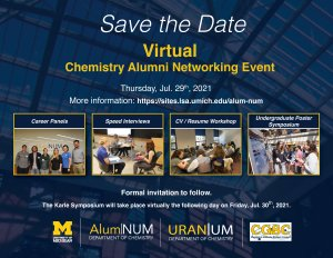 Save the Date, events, logo for ALUM|NUM