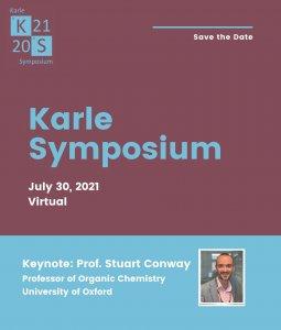 Karle Symposium Poster with 2021 logo