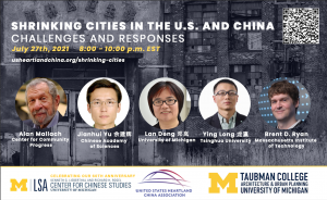 Shrinking Cities In the US and China: Challenges and Responses