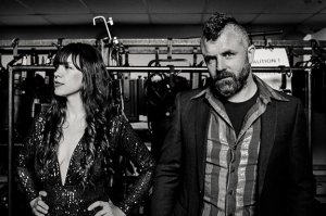 Mick Flannery and Susan O'Neill at The Ark