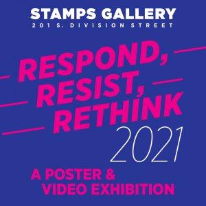 Respond Resist Rethink poster