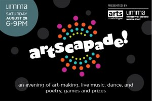 Artscapade poster graphic