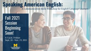 Speaking American English Fall 2021