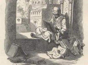 Gustav Doré, illustration of Cide Hamete Benengeli, 1863