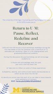 Return to UM Flyer
