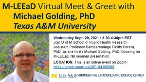Image showing Dr. Golding from Texas A&M University