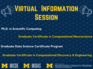 MICDE & MIDAS Info Session - Wed. 9/29/2021 @ 12pm