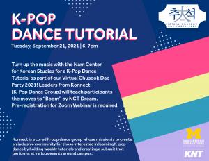 Nam Center Virtual Chuseok Dae Party 2021 | K-Pop Dance Tutorial