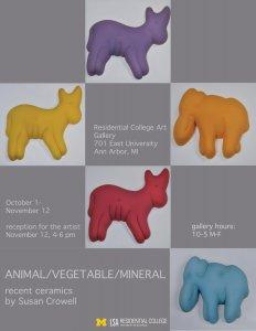 Animal/Vegetable/Mineral Art Exhibit