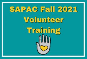 SAPAC Volunteer Training