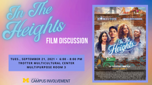 In the Heights Film Discussion