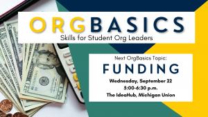 OrgBasics - Funding
