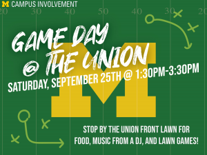Game Day @ The Union