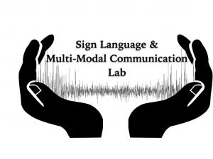 Sign language & multimodal communication lab logo