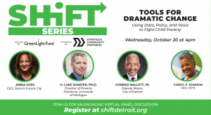 Shift Series: Tools for Dramatic Change panelists