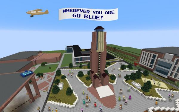 Michigan Engineering Virtual Fan Zone