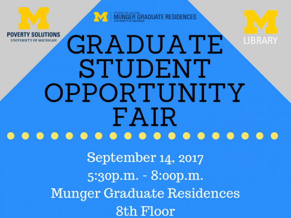 Graduate Student Opportunity Fair