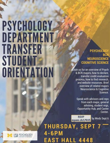 orientation to psychology Psychology faculty member to learn about the role of students in his or her research, you may not also interview that faculty member as someone employed in a psychology-related field that you think you might like to pursue.