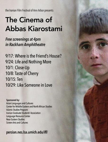 Abbas kiarostami ten online dating