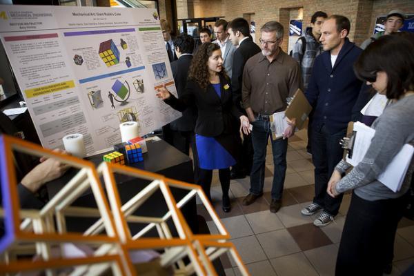 Michigan Engineering Design Expo: Michigan Engineering Students