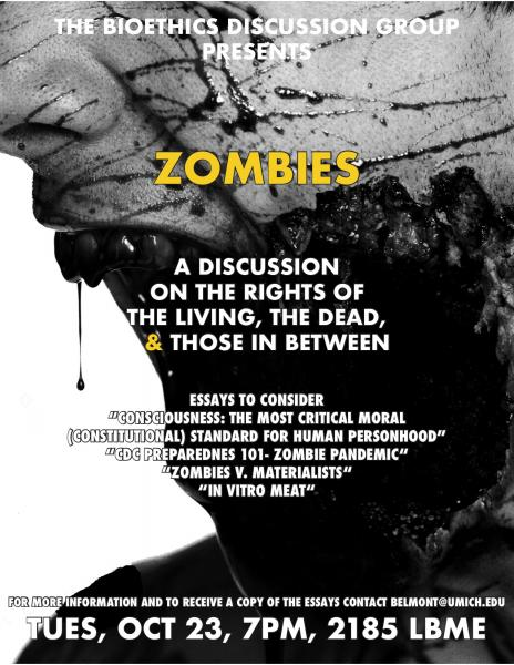Bioethics Discussion: Zombies