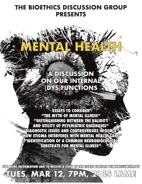 Bioethics Discussion: Mental Health