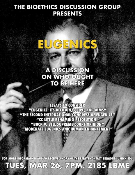 Bioethics Discussion: Eugenics