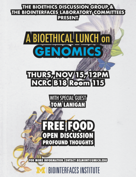 A Bioethical Lunch on Genomics: A bioethical lunch