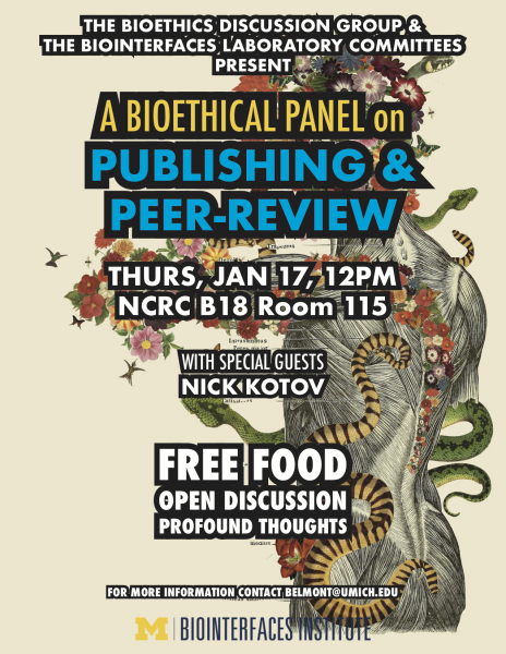 A Bioethical Lunch on Publishing and Peer Review: A bioethical lunch