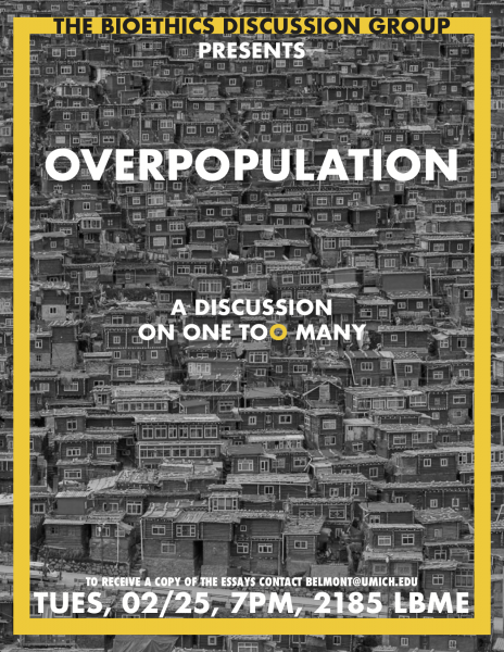 Bioethics Discussion: Overpopulation