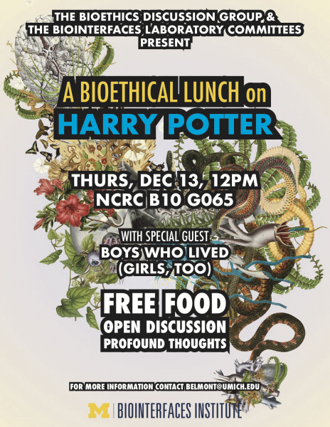 A Bioethical Lunch on Harry Potter: A bioethical lunch
