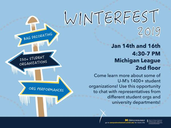 Winterfest: Find Your Student Org!
