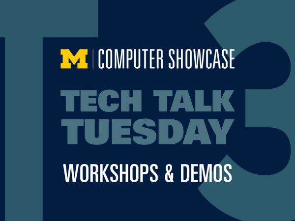Tech Talk Tuesday: Computer Showcase