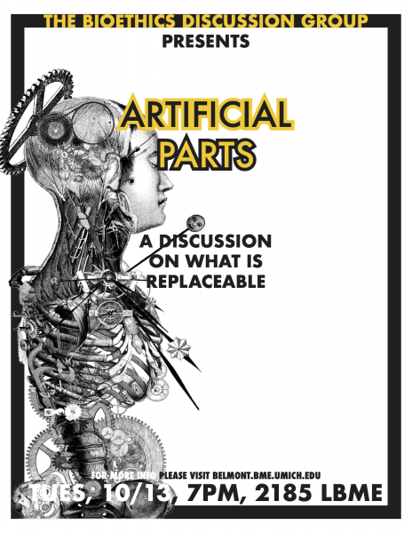 Bioethics Discussion: Artificial Parts