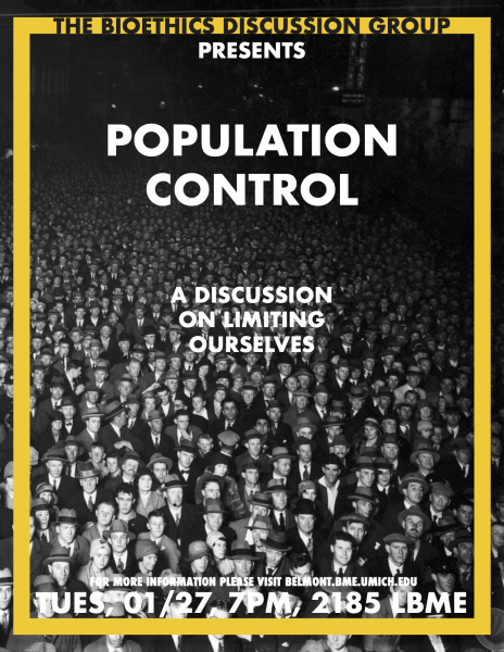 Bioethics Discussion: Population Control
