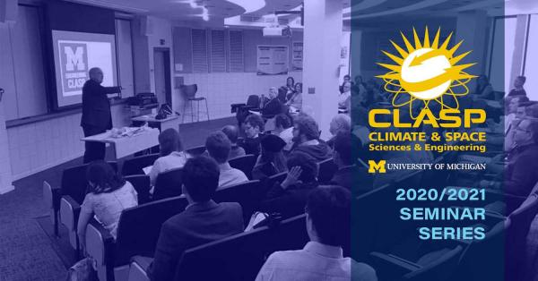 CLASP Seminar Series: Prof. Lisa Welp, of Purdue University